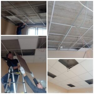 Ремонтные и отделочные работы офисных помещений в г. Пестрецы