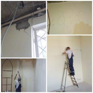 Ремонтные и отделочные работы офисных помещений в с. Тюлячи
