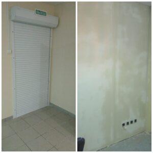 Ремонтные работы с усилением стен от взломостойкости в помещениях